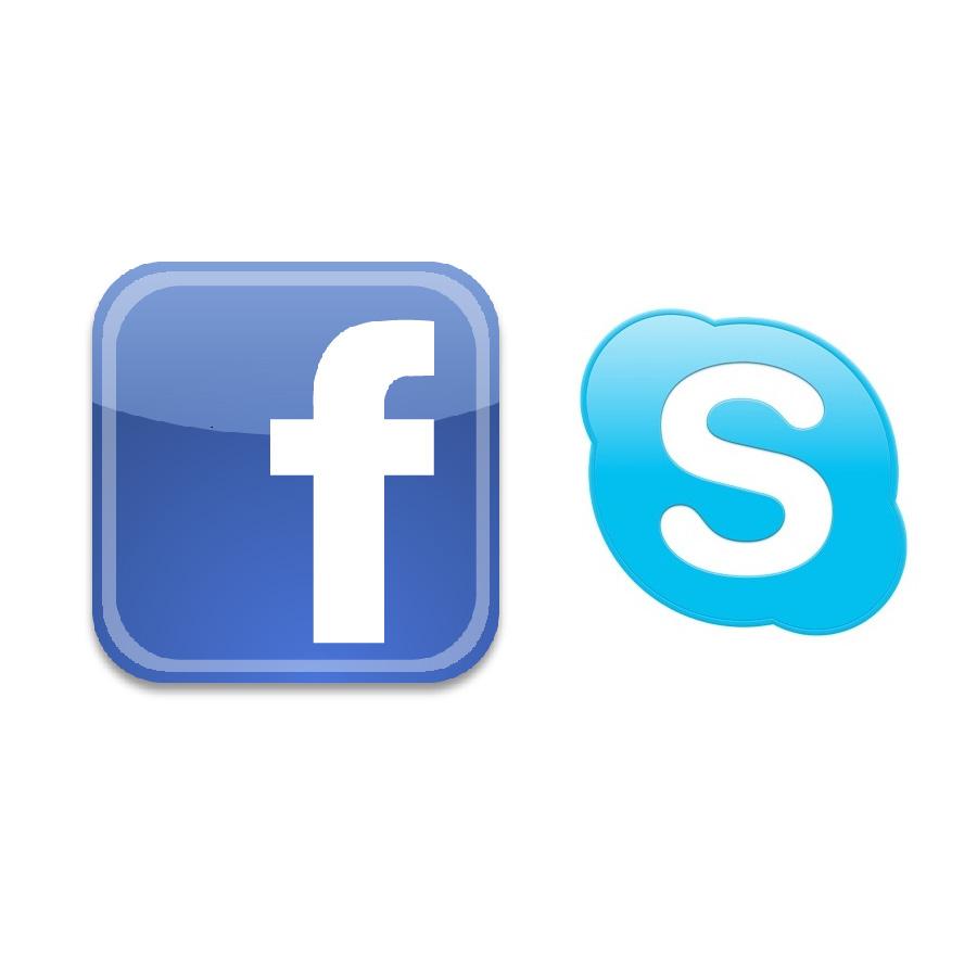 Facebook et Skype