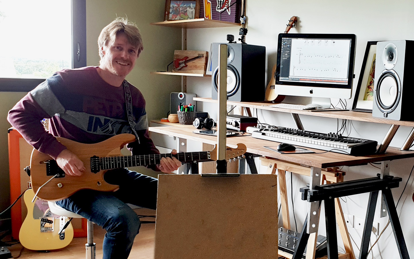 David Boet Professeur de Guitare
